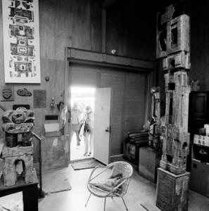 Elza's studio