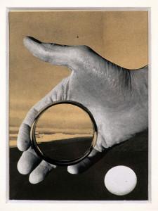 Robin Skelton, Collage, 1972