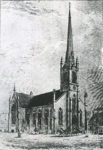 First Methodist Church, Victoria; John Wright, archt. 1859; photo courtesy BCARS