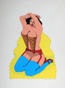Ice Cream Lady, Eric Metcalfe, 1969