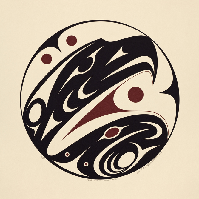 Second Floor Coast Salish Art In Cornett