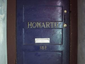 Glenn Howarth's Studio Door, 18 1/2 Fan Tan Alley, Victoria.