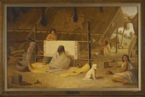 Paul Kane (1810 Mallow, Ireland–1871 Toronto, Canada) Oil on canvas 45.3 x 73.8 cm, Royal Ontario Museum