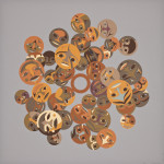 Timeless Circle, Susan Point, Serigraph on paper, 2013, 81.28 cm x 81.28 cm
