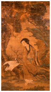 Unknown, Taoist Immortal With A Crane