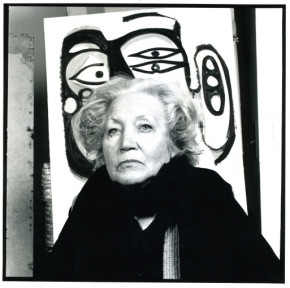 Portrait of Margaret Peterson by Curtis Lantinga, 1984SMALL