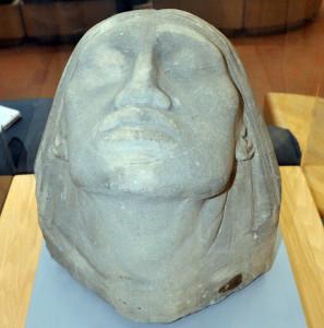 Head of Canada, Katherine Emma Maltwood, sandstone, 1912